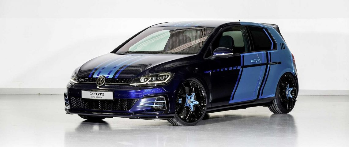 volkswagen golf gti first decade sw gte impulse deux concepts hybrides cr s par des. Black Bedroom Furniture Sets. Home Design Ideas