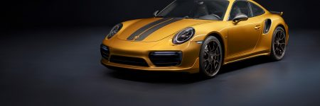 Porsche 911 Turbo S Exclusive Series : la « Golden 911 » de 607 chevaux est née…