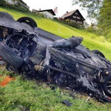 Suisse : Richard Hammond miraculé après un accident avec la Rimac Concept_One (vidéo)