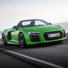 Audi R8 Spyder V10 plus : 610 chevaux à l'air libre !