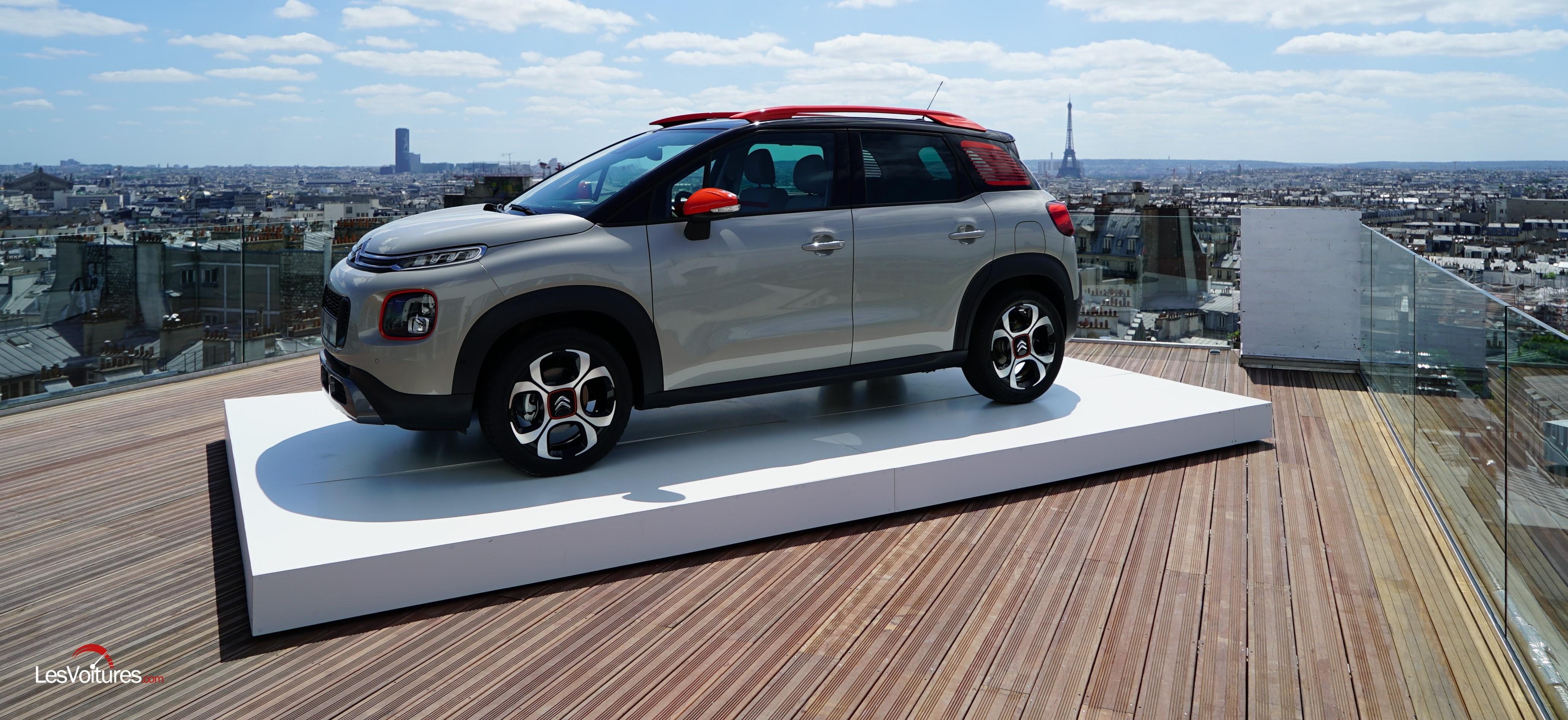citro n c3 aircross le nouveau suv compact d voil paris les voitures. Black Bedroom Furniture Sets. Home Design Ideas