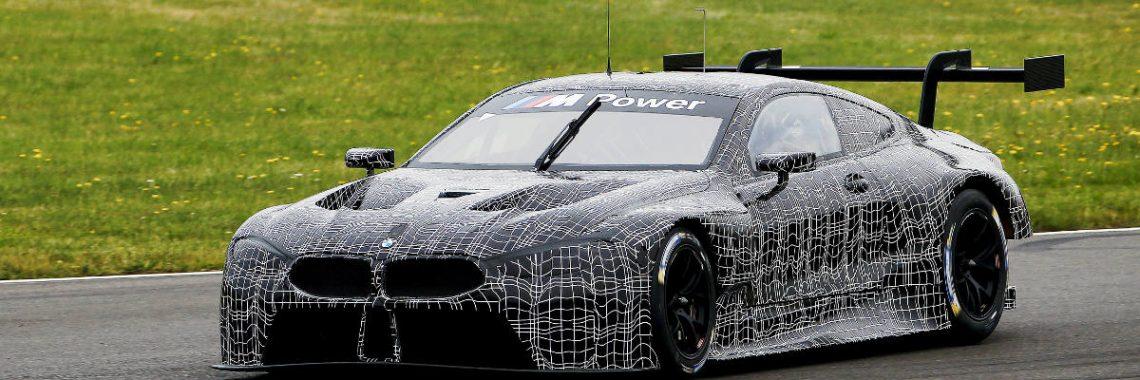 FIA WEC : la BMW M8 se montre en piste pour la première fois !
