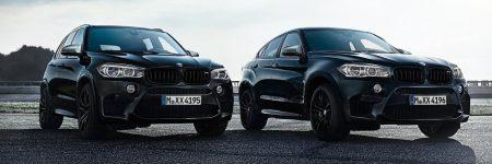 BMW X5 M & M6 M Black Fire Edition: le noir leur va si bien!