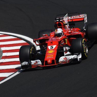 F1 – GP de Hongrie : victoire de Vettel et doublé Ferrari !