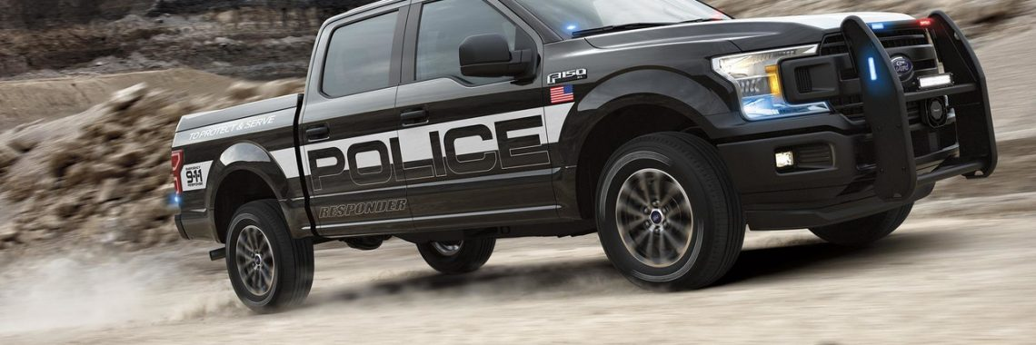 Ford F-150 Police Responder : « To Protect and to Serve » en pick-up !