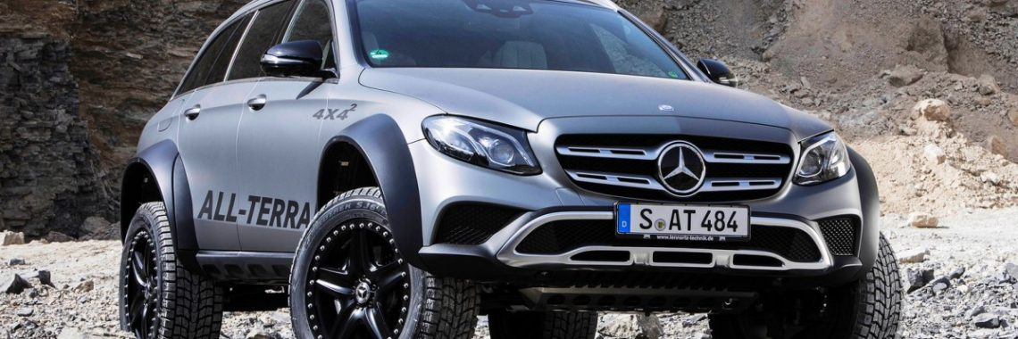 Mercedes-Benz Classe E All Terrain 4×4² : « Superbreak  » !