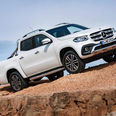 Mercedes-Bens Classe X : premier pick-up premium de l'histoire !