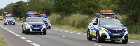 Peugeot 3008 : en mode «Gendarmerie» à l'occasion du Tour de France !
