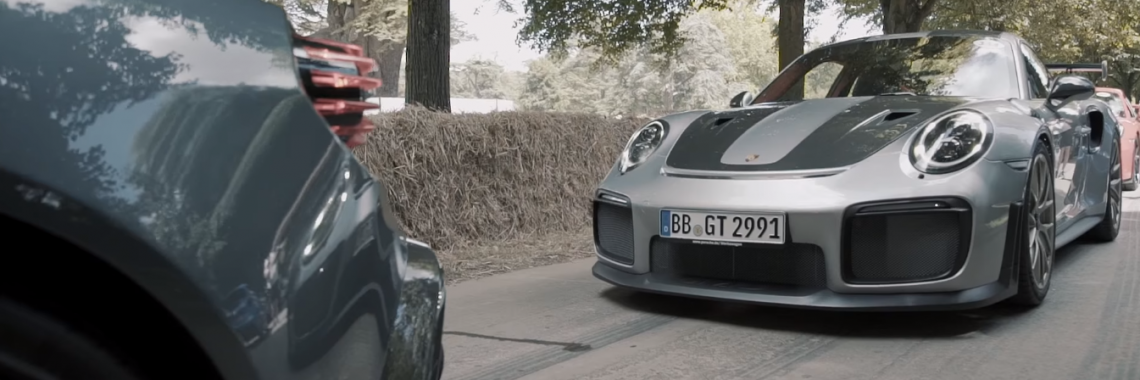Vidéo : la Porsche 911 GT2 RS en action au Festival of Speed de Goodwood !