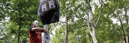 Radars : les buralistes les recouvrent pour protester !