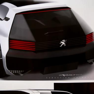 Vidéo : dessine-moi la Peugeot 205 GTI du futur, visite de l'ADN Peugeot…