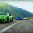 Vidéo : trois LamborghiniHuracán sur la route de Dracula !
