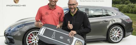 Porsche Panamera Sport Turismo : un golfeur l'a gagne grâce à un trou en un !