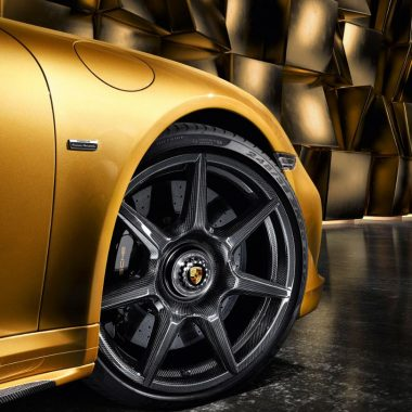 Porsche 911 Turbo S Exclusive Series : des jantes en fibre de carbone en option !