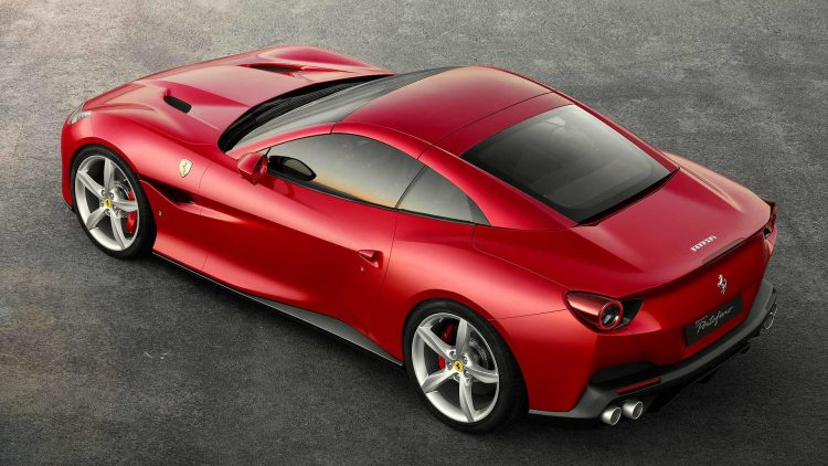 ferrari portofino la california t fait sa mue les voitures. Black Bedroom Furniture Sets. Home Design Ideas