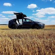 Tesla Model X : 1 300 km en 2 jours à bord du SUV, road trip !