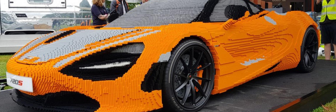 Vidéo : la construction en LEGO de la McLaren 720S !