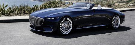 Vision Mercedes-Maybach 6 Cabriolet : le magnifique concept fait son retour sans toit…
