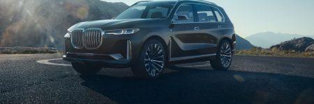 BMW Concept X7 iPerformance : avant-goût du futur SUV luxueux !