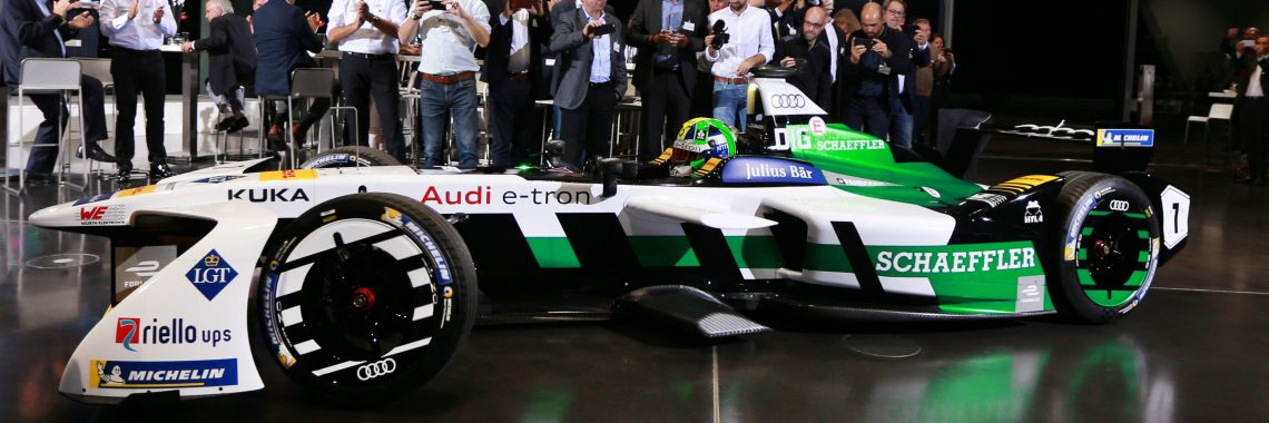 Formula E : Audi présente sa première monoplace constructeur