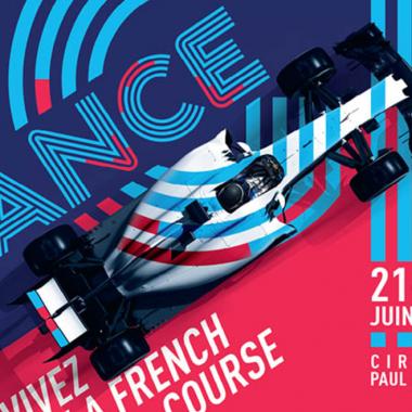 F1 – GP de France : le tracé et son affiche sont connus !