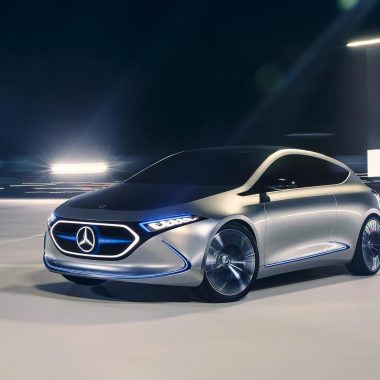 Mercedes-Benz Concept EQA  : avant-goût de la future Classe A électrique !