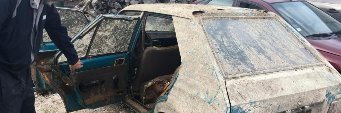 Peugeot 104 : un exemplaire volé en 1979 retrouvé 38 ans après