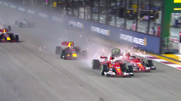 video-crash-f1-ferrari-singapour