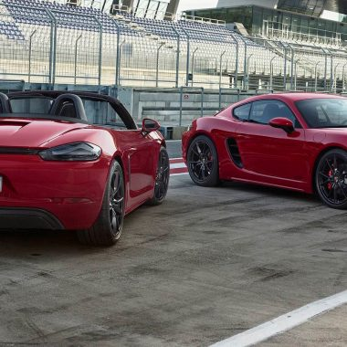 Porsche 718 Boxster GTS & 718 Cayman GTS : puissant duo