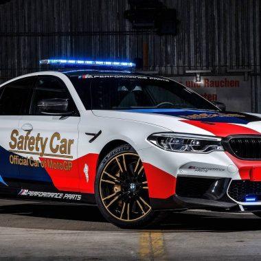 BMW M5 Safety Car MotoGP : déjà prête pour la saison 2018