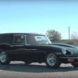 Vidéo : la mythique Jaguar Type-E Corbillard «ressuscitée»