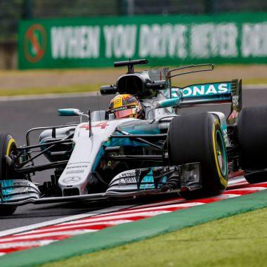F1 – GP du Japon : Lewis Hamilton s'envole vers le titre pilote