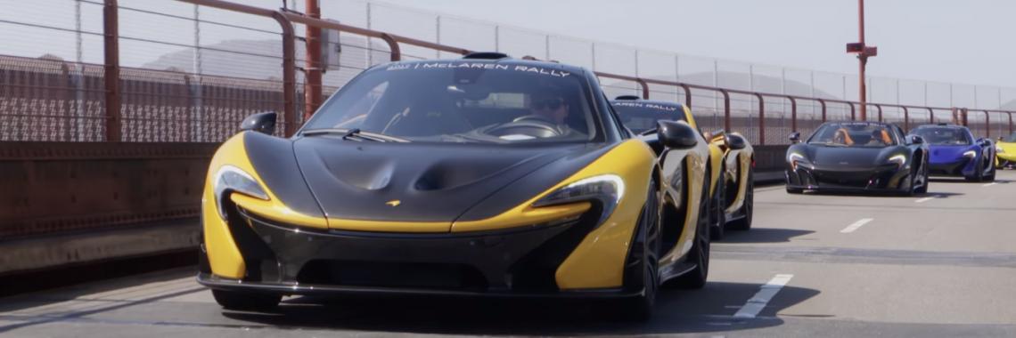 Vidéo : 15 McLaren en virée lors du «McLaren Pebble Beach Rally»