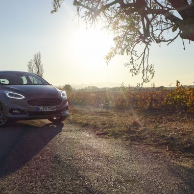 Ford Fiesta Vignale : road trip automnal en Provence