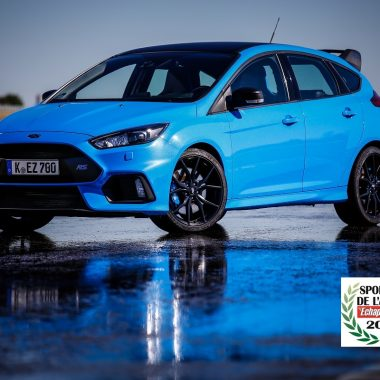 Ford Focus RS Pack Performance : élue « Sportive de l'Année 2017 »