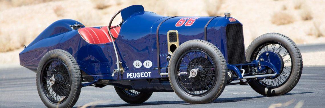 Peugeot L45 Grand Prix 1914 : voici la «lionne» la plus chère du monde