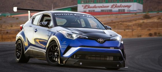 Toyota-C-HR-600-chevaux-sema-show-willow-springs