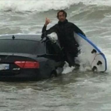 Vendée : une Audi A5 retrouvée dans la mer