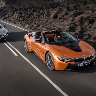 BMW i8 : la version roadster se dévoile