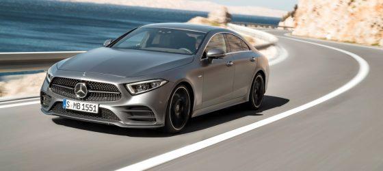 Mercedes-Benz CLS, 2017, Edition 1 designo selenitgrau magno, Leder Nappa Schwarz Mercedes-Benz CLS, 2017, Edition 1 designo selenite grey magno, black nappa leather