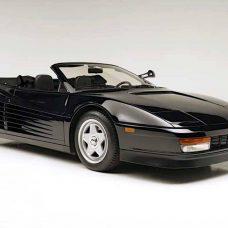 Ferrari Testarossa : un rare cabriolet utilisé par Pepsi et Michael Jackson à vendre