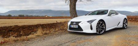 Lexus LC 500h : le sculptural coupé hybride à l'essai