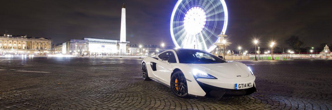 McLaren 570GT : rêve de Noël à Paris