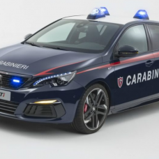 Peugeot 308 GTI : nouvelle recrue de la police italienne