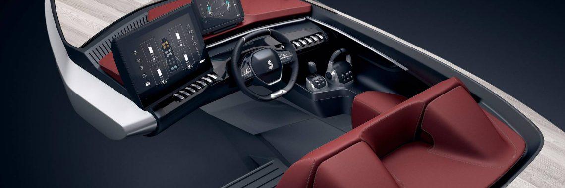 Sea Drive Concept : Peugeot se met à l'eau avec l'i-Cockpit