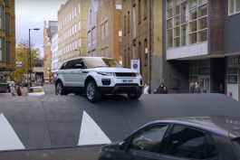 video-range-rover-evoque-stunt-ralentisseur