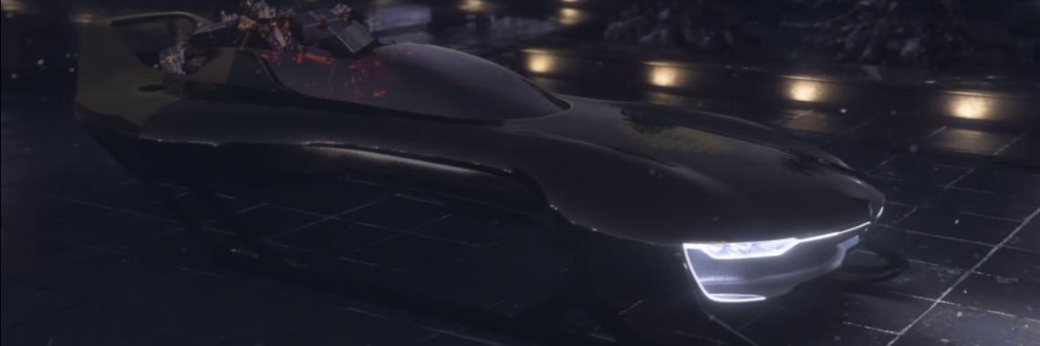 Vidéo : Renault Sport dévoile le traîneau «Santa Sleigh R.S.»