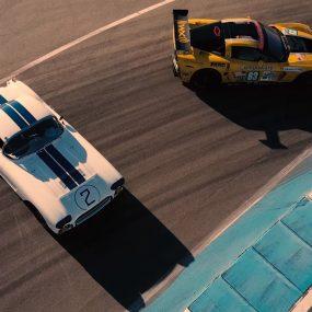 Vidéo : rencontre entre les Corvette C1 et C6.R des 24 Heures du Mans