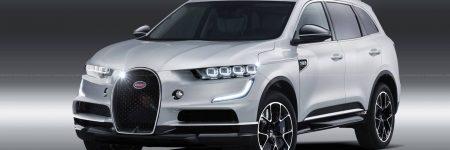 Bugatti : une illustration d'un hypothétique SUV fait débat