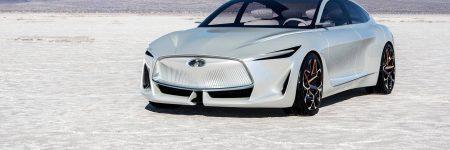 Infiniti Q Inspiration Concept : berline futuriste à moteur thermique révolutionnaire